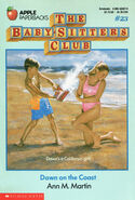 Baby-sitters Club 23 Dawn on the Coast original cover