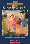 Super Mystery 1 Baby-sitters Haunted House ebook cover