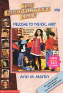 Baby-sitters Club 90 Welcome to the BSC Abby 1995 cover