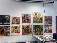 Hodges Soileau Baby-Sitters Club original paintings 7