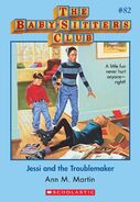 BSC 82 Jessi and the Troublemaker ebook cover