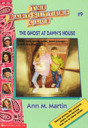 Baby-Sitters Club 9 The Ghost at Dawns House 1996 reprint cover