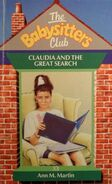 Babysitters Club 33 Claudia Great Search UK cover