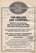 Super Special 11 Baby-sitters Remember 100 million bookad from 76 2ndpr 1994