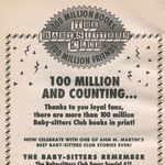 Super Special 11 Baby-sitters Remember 100 million bookad from 76 2ndpr 1994.jpg