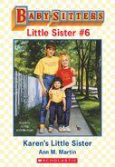 Baby-sitters Little Sister 6 Karens Little Sister ebook cover