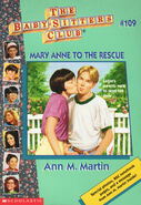 Baby-sitters Club 109 Mary Anne to the Rescue cover