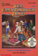 Baby-sitters Club 44 Dawn Big Sleepover original front cover 1st print