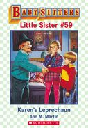 Baby-sitters Little Sister 59 Karens Leprechaun ebook cover