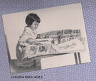 Claudia Age 2 from 1993 Calendar