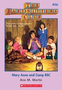 BSC 86 Mary Anne and Camp BSC ebook cover