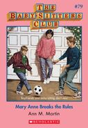 BSC 79 Mary Anne Breaks the Rules ebook cover