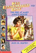 Baby-sitters Club 131 The Fire at Mary Annes House cover