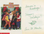 SS9 Christmas Postcard front and back