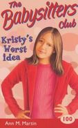 Kristys Worst Idea UK cover