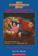 BSC Mystery 1 Stacey Missing Ring ebook cover