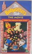 Baby-sitters Club movie UK VHS front