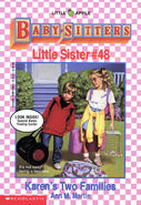 Baby-sitters Little Sister 48 Karens Two Families cover