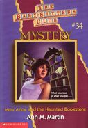 BSC Mystery 34 Mary Anne and the Haunted Bookstore cover