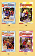 Baby-sitters Little Sister 48 Karens Two Families trading cards front