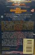 Baby-sitters Club 78 Claudia Crazy Peaches audio tape back back