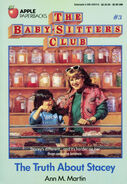 Baby-Sitters Club 3 The Truth About Stacey original cover
