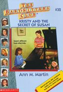 BSC - Kristy and the Secret of Susan 1996 reprint cover