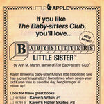 Baby-sitters Little Sister new series bookad from 20 1stpr 1989.jpg