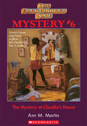 BSC Mystery 6 Mystery at Claudias House ebook cover
