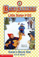 Baby-sitters Little Sister 103 Karens Movie Star cover