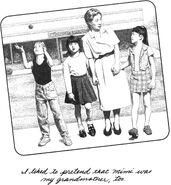 Kristy Mary Anne Claudia Mimi kindergarten MAB