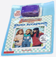 Little Sister Photo Scrapbook Book and Camera Pack front