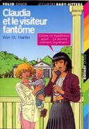 Le Club des Baby-Sitters 02. Claudia et le visiteur fantôme -- French cover by Philippe Munch