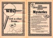 BSC mystery series bookad from 51 orig 1stpr 1992