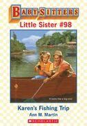 Baby-sitters Little Sister 98 Karens Fishing Trip ebook cover