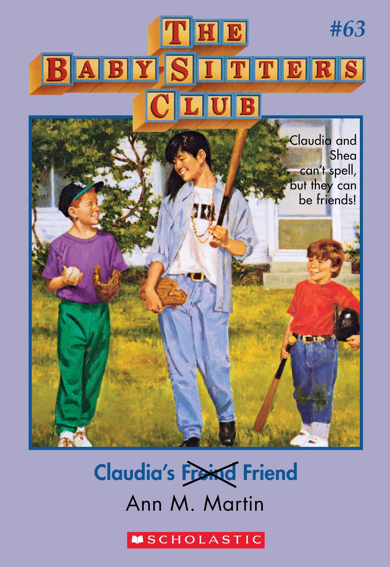 Claudia's F̶r̶e̶i̶n̶d̶ Friend