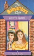 Baby-sitters Club 6 Kristys Big Day UK cover