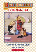 Baby-sitters Little Sister 4 Karens Kittycat Club ebook cover