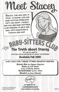 Truth about Stacey B&W Graphic Novel bookad 2006 from GN 1 KGI