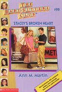 Baby-sitters Club 99 Staceys Broken Heart cover