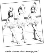 Ballet class Kristy Mary Anne Claudia 2nd grade MAB