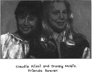 Claudia and Stacey from Staceys Book