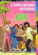 Le Club des Baby-Sitters 01. L'idée géniale de Kristy -- French cover by Philippe Munch