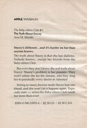 BSC 03 Truth About Stacey bookad from BSC 4 orig 33953
