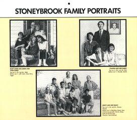 1991 calendar Family Portraits Dawn Mary Anne Claudia Kristy jpg