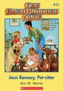 BSC 22 Jessi Ramsey Pet-sitter ebook cover