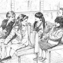 Students sitting in bus on pet field trip Colman1-13.jpg