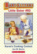 Baby-sitters Little Sister 93 Karens Cooking Contest ebook cover