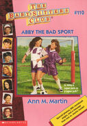 Baby-sitters Club 110 Abby the Bad Sport cover