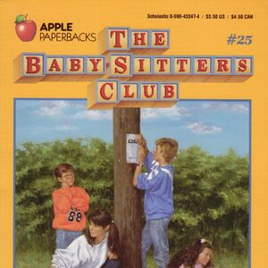 Baby-sitters Club 25 Mary Anne and the Search for Tigger original cover.jpg